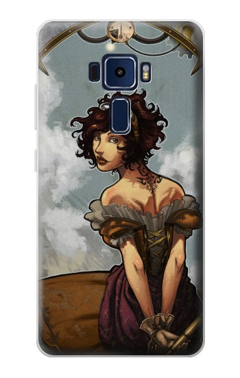Printed Steampunk Girl Asus Zenfone 3 Deluxe ZS570KL Case