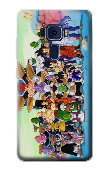 Printed Dragon Ball Z Asus Zenfone 3 Deluxe ZS570KL Case