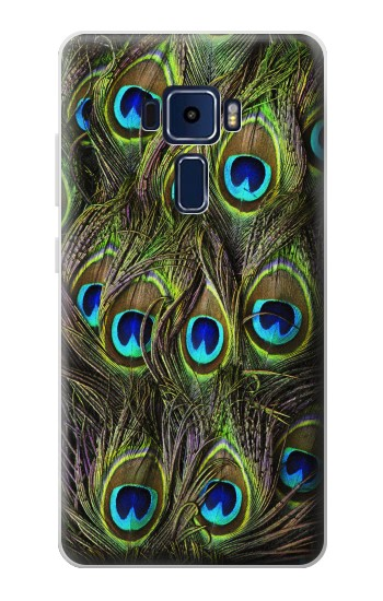 Printed Peacock Feather Asus Zenfone 3 Deluxe ZS570KL Case