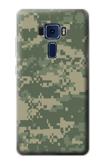 Printed Digital Camo Camouflage Graphic Printed Asus Zenfone 3 Deluxe ZS570KL Case