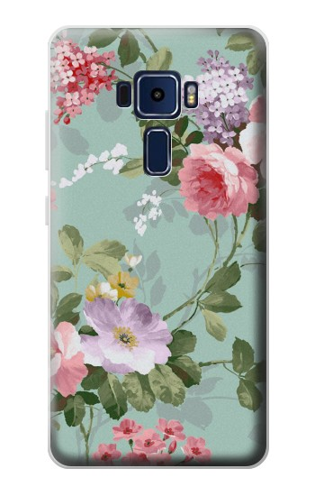 Printed Flower Floral Art Painting Asus Zenfone 3 Deluxe ZS570KL Case