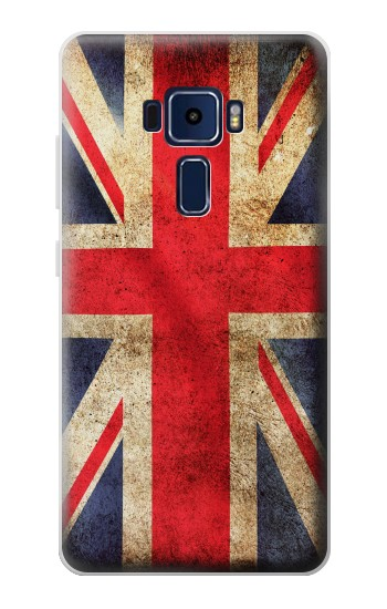 Printed British UK Vintage Flag Asus Zenfone 3 Deluxe ZS570KL Case