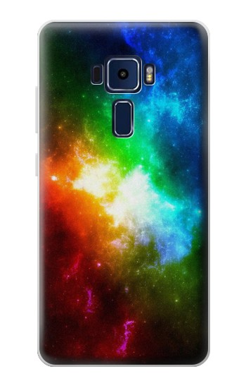 Printed Colorful Rainbow Space Galaxy Asus Zenfone 3 Deluxe ZS570KL Case