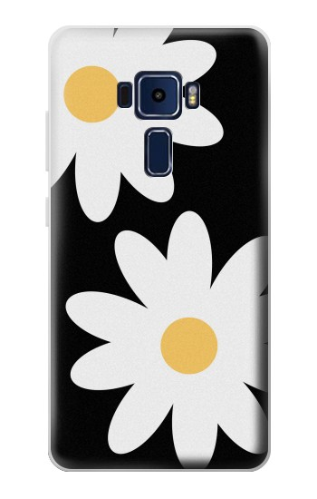 Printed Daisy White Flowers Asus Zenfone 3 Deluxe ZS570KL Case