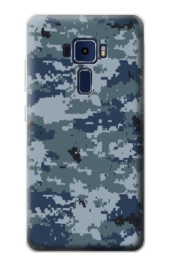 Printed Navy Camo Camouflage Graphic Asus Zenfone 3 Deluxe ZS570KL Case