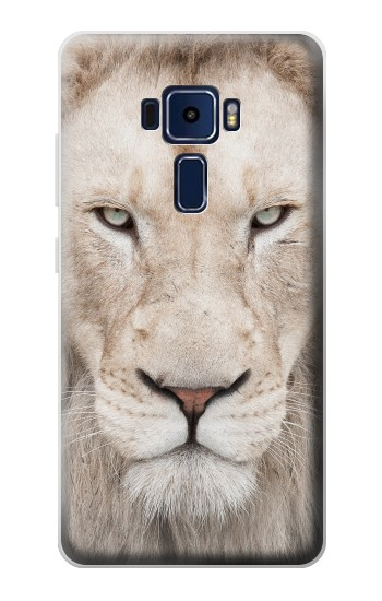 Printed White Lion Face Asus Zenfone 3 Deluxe ZS570KL Case