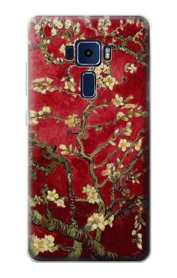 Printed Red Blossoming Almond Tree Van Gogh Asus Zenfone 3 Deluxe ZS570KL Case