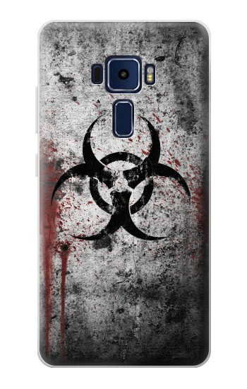 Printed Biohazards Biological Hazard Asus Zenfone 3 Deluxe ZS570KL Case