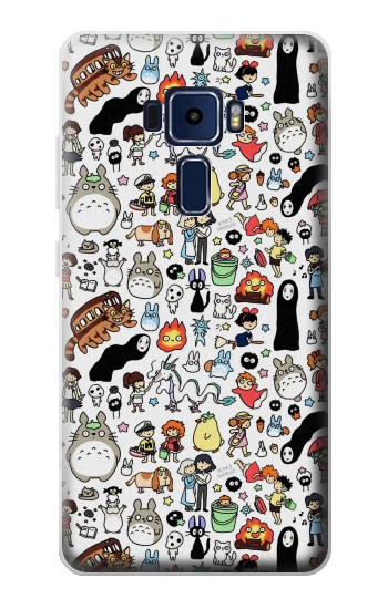 Printed Ghibli Characters Asus Zenfone 3 Deluxe ZS570KL Case