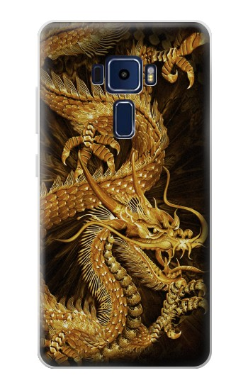 Printed Chinese Gold Dragon Printed Asus Zenfone 3 Deluxe ZS570KL Case