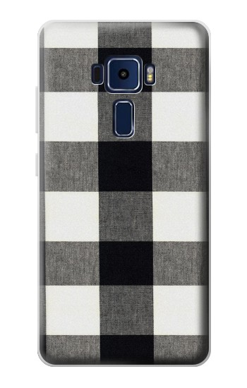 Printed Black and White Buffalo Check Pattern Asus Zenfone 3 Deluxe ZS570KL Case