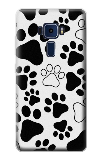 Printed Dog Paw Prints Asus Zenfone 3 Deluxe ZS570KL Case