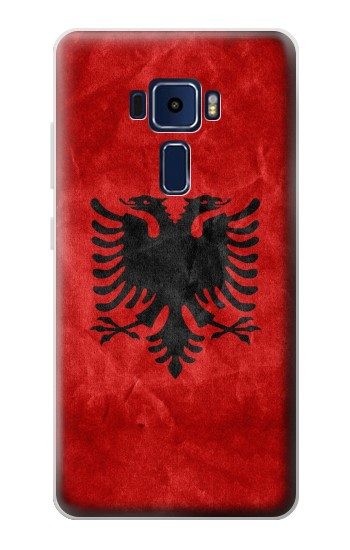 Printed Albania Red Flag Asus Zenfone 3 Deluxe ZS570KL Case