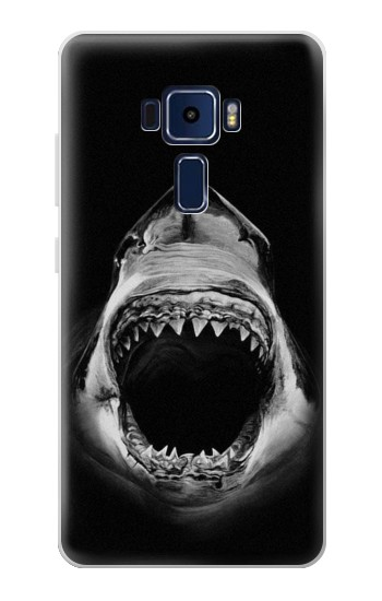 Printed Great White Shark Asus Zenfone 3 Deluxe ZS570KL Case