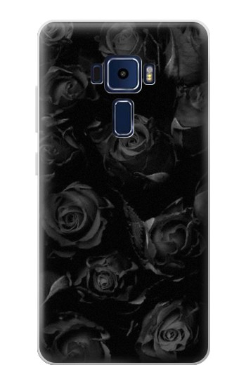 Printed Black Roses Asus Zenfone 3 Deluxe ZS570KL Case