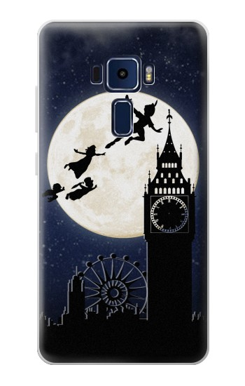 Printed Peter Pan Fly Fullmoon Night Asus Zenfone 3 Deluxe ZS570KL Case
