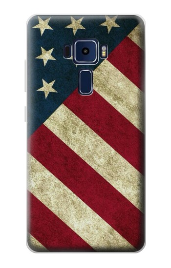 Printed US National Flag Asus Zenfone 3 Deluxe ZS570KL Case