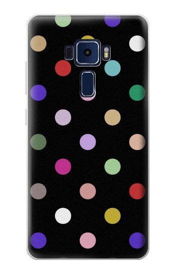 Printed Colorful Polka Dot Asus Zenfone 3 Deluxe ZS570KL Case