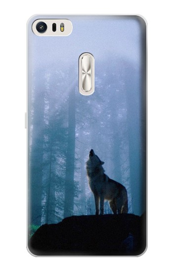 Printed Wolf Howling in Forest Asus Zenfone 3 Ultra ZU680KL Case