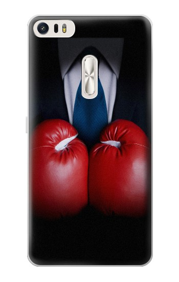 Printed Businessman In Black Suit With Boxing Gloves Asus Zenfone 3 Ultra ZU680KL Case