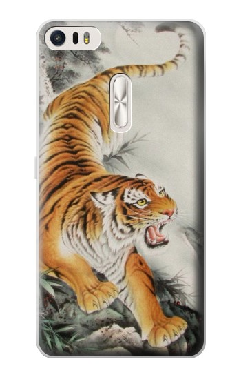 Printed Chinese Tiger Tattoo Painting Asus Zenfone 3 Ultra ZU680KL Case