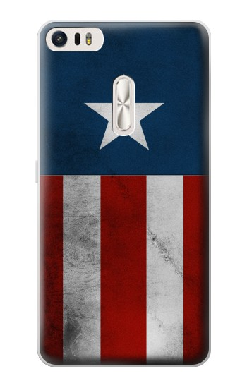 Printed Captain Star Flag of America Asus Zenfone 3 Ultra ZU680KL Case