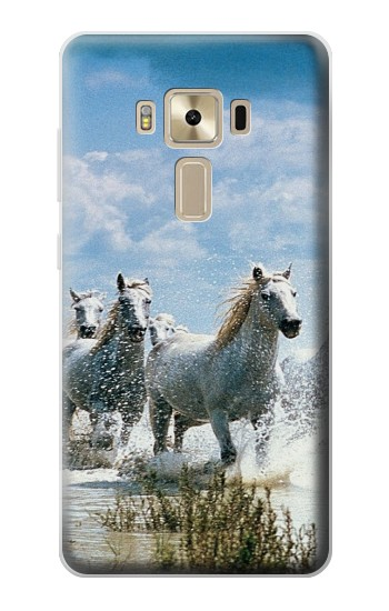 Printed White Horse 2 Asus Zenfone 3 ZE520KL Case