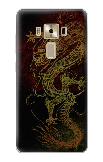 Printed Chinese Dragon Asus Zenfone 3 ZE520KL Case