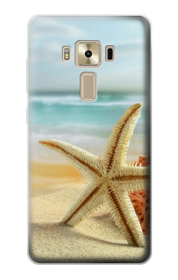 Printed Starfish on the Beach Asus Zenfone 3 ZE520KL Case