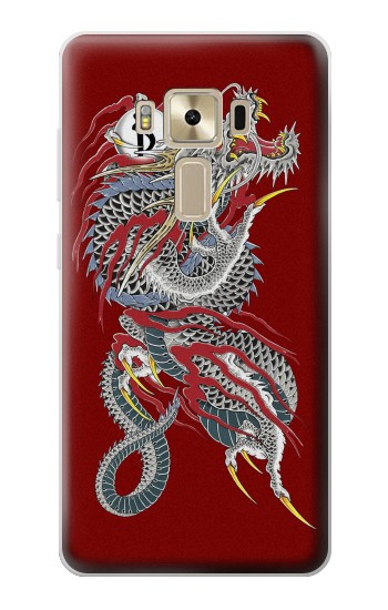 Printed Yakuza Dragon Tattoo Asus Zenfone 3 ZE520KL Case