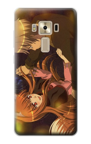 Printed Spice and Wolf Lawrence Horo Dancing Asus Zenfone 3 ZE520KL Case