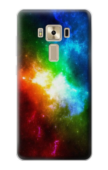 Printed Colorful Rainbow Space Galaxy Asus Zenfone 3 ZE520KL Case