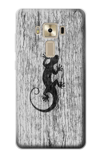 Printed Gecko Wood Graphics Printed Asus Zenfone 3 ZE520KL Case