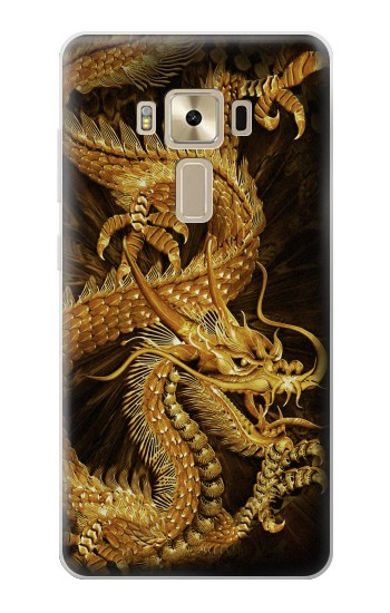 Printed Chinese Gold Dragon Printed Asus Zenfone 3 ZE520KL Case