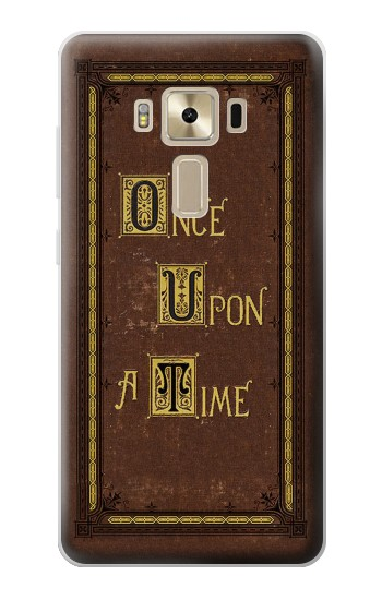 Printed Once Upon a Time Book Cover Asus Zenfone 3 ZE520KL Case