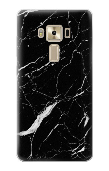 Printed Black Marble Graphic Printed Asus Zenfone 3 ZE520KL Case
