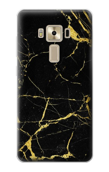 Printed Gold Marble Graphic Printed Asus Zenfone 3 ZE520KL Case