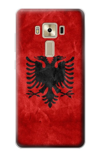 Printed Albania Red Flag Asus Zenfone 3 ZE520KL Case
