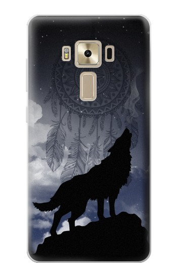 Printed Dream Catcher Wolf Howling Asus Zenfone 3 ZE520KL Case