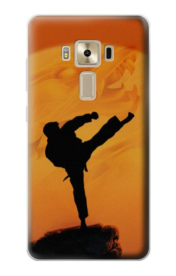 Printed Kung Fu Karate Fighter Asus Zenfone 3 ZE520KL Case
