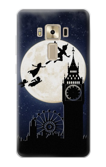 Printed Peter Pan Fly Fullmoon Night Asus Zenfone 3 ZE520KL Case