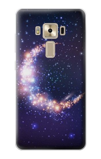 Printed Crescent Moon Galaxy Asus Zenfone 3 ZE520KL Case