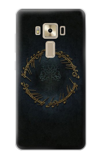 Printed Lord of The Rings Ring Elf Writing Asus Zenfone 3 ZE520KL Case