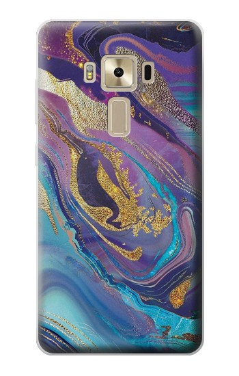 Printed Colorful Abstract Marble Stone Asus Zenfone 3 ZE520KL Case