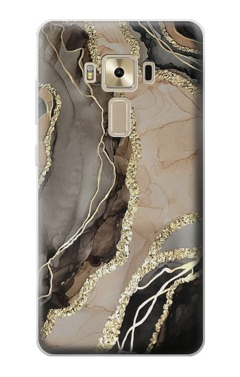 Printed Marble Gold Graphic Printed Asus Zenfone 3 ZE520KL Case