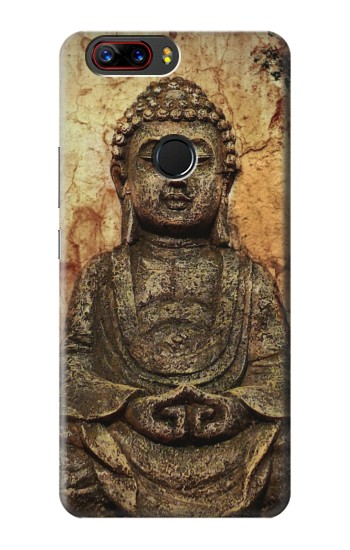 Printed Buddha Rock Carving ZTE nubia Z17s Case