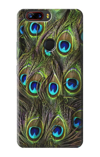 Printed Peacock Feather ZTE nubia Z17s Case