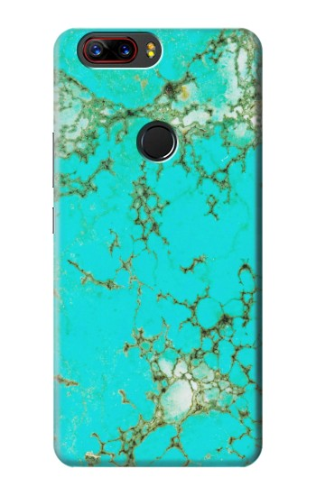 Printed Turquoise Gemstone Texture Graphic Printed ZTE nubia Z17s Case