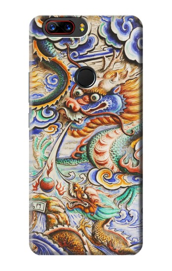 Printed Traditional Chinese Dragon Art ZTE nubia Z17s Case