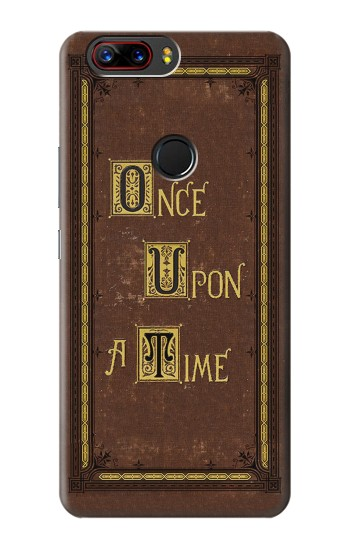 Printed Once Upon a Time Book Cover ZTE nubia Z17s Case